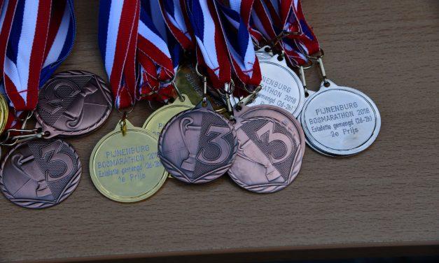 14-10-2018 Podium Foto's Pijnenburg Bosmarathon