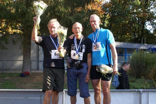Podium Mannen 10km Sportief Wandelen