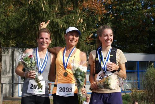 Podium Vrouwen 21km