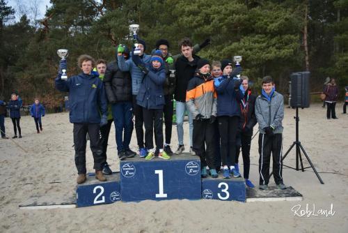 Podium Jongens Junioren C Ploegen