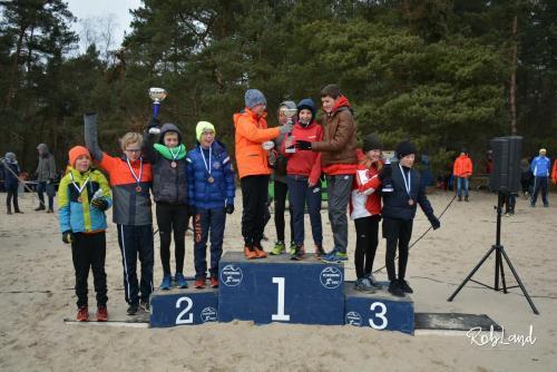 Podium Jongens Junioren D2 Ploegen
