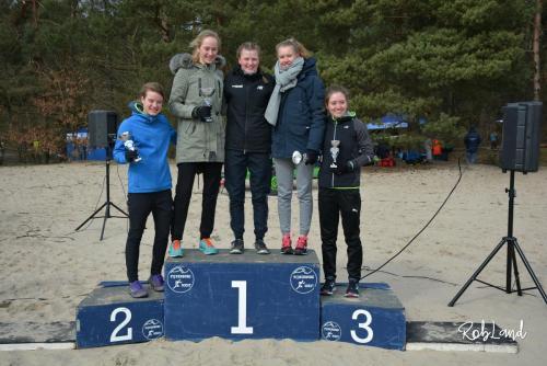 Podium Meisjes Junioren A Individueel