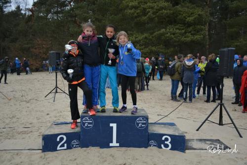 Podium Meisjes Junioren D1 Individueel