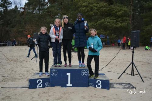 Podium Meisjes Junioren D2 Individueel